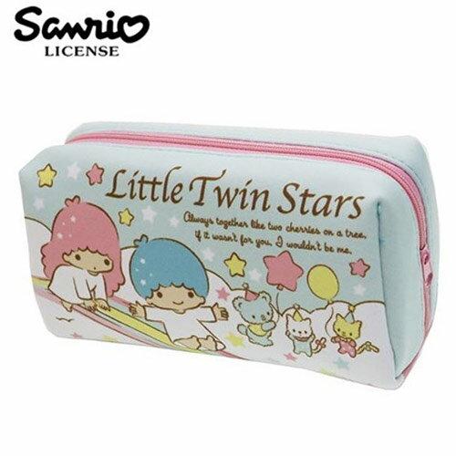 【 】雙子星 KIKILALA 防震棉 化妝包 收納包 鉛筆盒 筆袋 三麗鷗 Sanrio - 432164