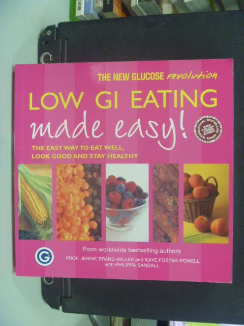 【書寶二手書T8/養生_HFW】Low GI Eating Made Easy_M.S. Wolever