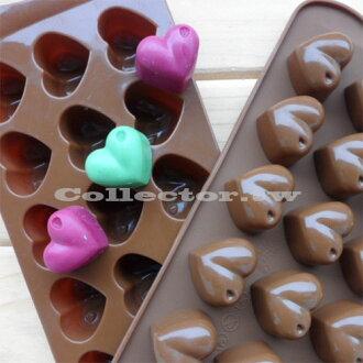 【N14053001】小小愛心矽膠巧克力模 蛋糕模 冰格 果凍模 肥皂模 15格模具