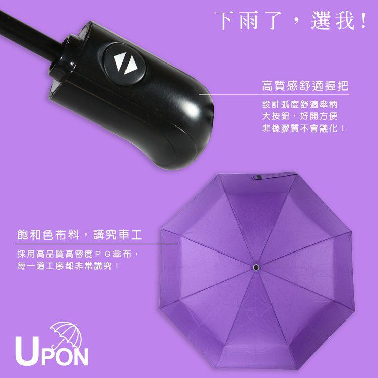 《買一送一》防風好攜帶雙人自動傘 晴雨傘 摺疊傘 防風 Upon雨傘