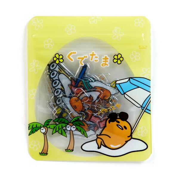 【真愛日本】18042500035造型貼紙-GU露營ACK三麗鷗蛋黃哥貼紙裝飾小貼紙