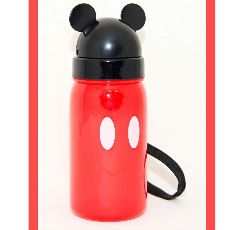 迪士尼 米奇 隱藏吸管 個人水杯 水壼 350ml 日本限定正版品
