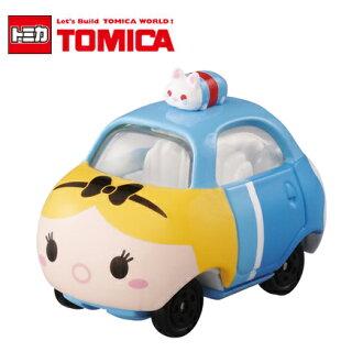 日貨 TOMICA TSUM TSUM 愛麗絲 DMT-06 魔鏡夢遊 疊疊樂 迪士尼 多美小汽車【N202110】