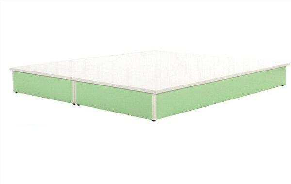 【石川家居】847-19(5尺綠白色)床底(CT-210)#訂製預購款式#環保塑鋼P無毒防霉易清潔