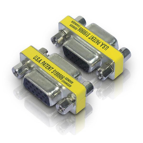 【生活家購物網】VGA 對接頭 雙母頭 15孔對孔 轉接頭 VGA 母對母接頭 (一個)