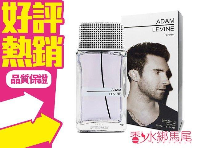 Adam Levine 魔力紅 亞當·李維 同名男性淡香水 100ML◐香水綁馬尾◐