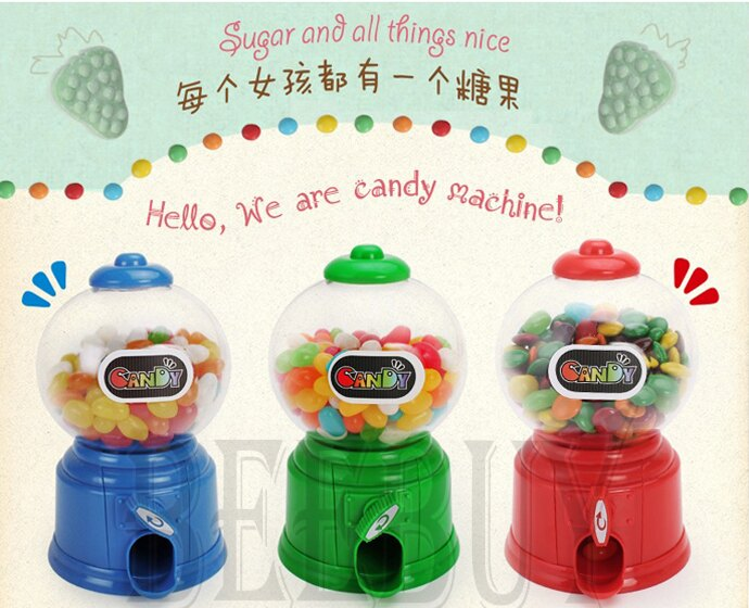超可愛 迷你 糖果 扭蛋機 玩具 存錢筒 交換禮物 玩具 可愛 4色 現貨 懷舊 童玩