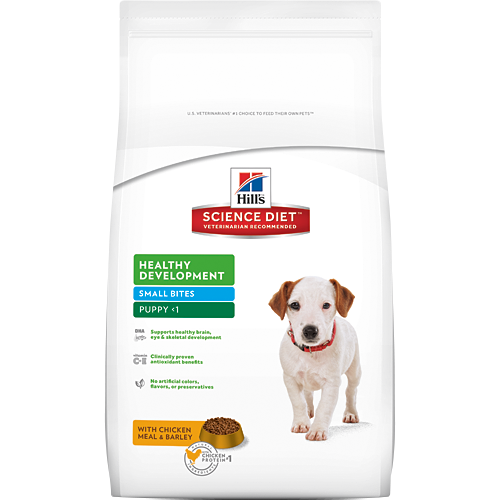 Hill's 希爾思 幼犬 均衡發育 雞肉與大麥配方 小顆粒 2KG/2公斤