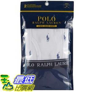 [COSCO代購如果沒搶到鄭重道歉] Polo Ralph Lauren 男童純棉四角內褲二入 白/藍 / 紅/深藍 _W1025131