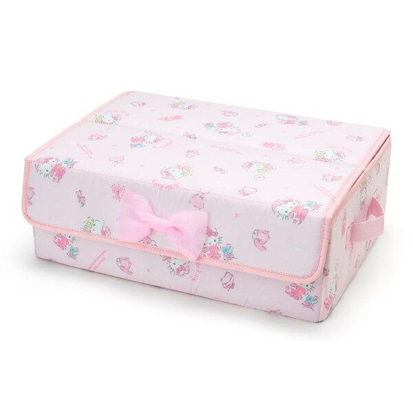 X射線【C293829】HelloKitty貼身衣物收納箱-睡衣,分隔箱玩具箱置物盒文具收納箱衣物收納櫥櫃收納