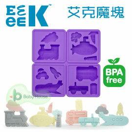 eeeek艾克魔塊Storymold可愛動物造型模組-旅行組-紫【淘氣寶寶●新品活動價】