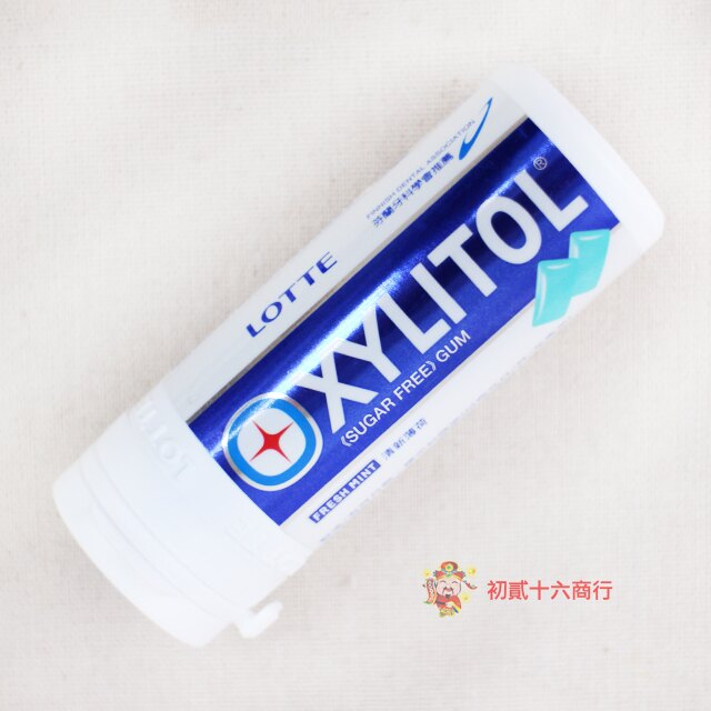 【0216零食會社】LOTTE XYLITOL木醣醇無糖口香糖(清新薄荷)26.1g