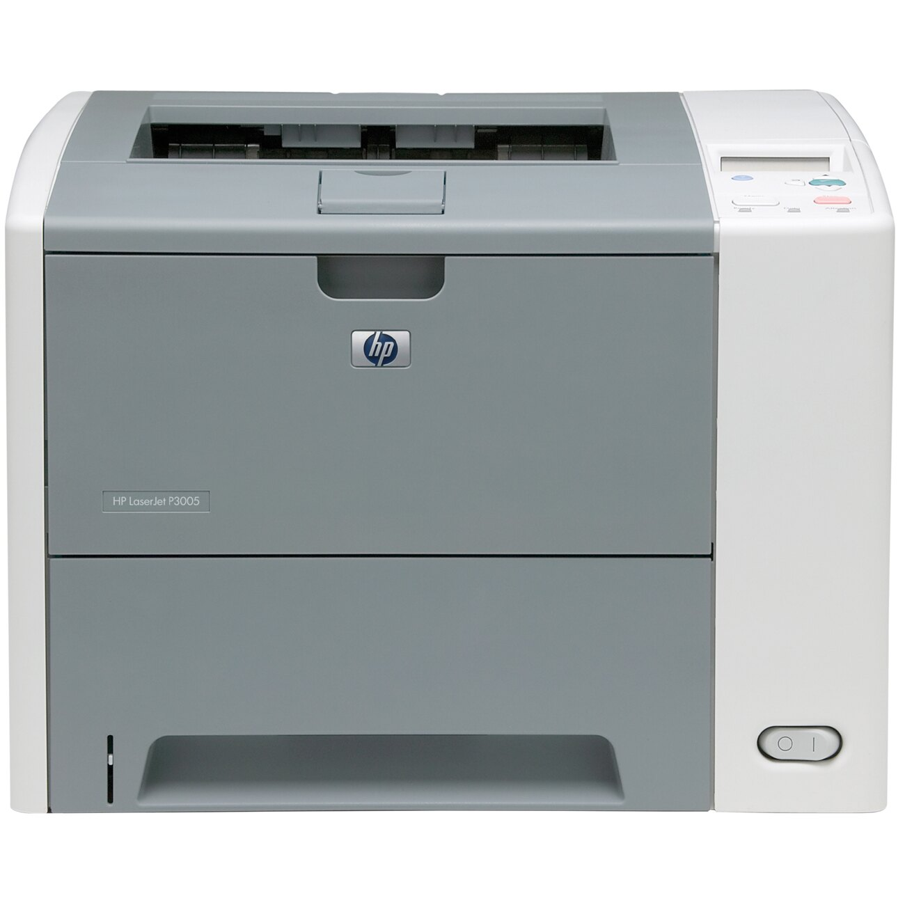 HP LaserJet P3000 P3005 Laser Printer - Monochrome - 1200 x 1200 dpi Print - Plain Paper Print - Desktop - 35 ppm Mono Print - Letter, Legal, Executive, Custom Size - 200 sheets Standard Input Capacity - 100000 Duty Cycle - Manual Duplex Print - USB 0