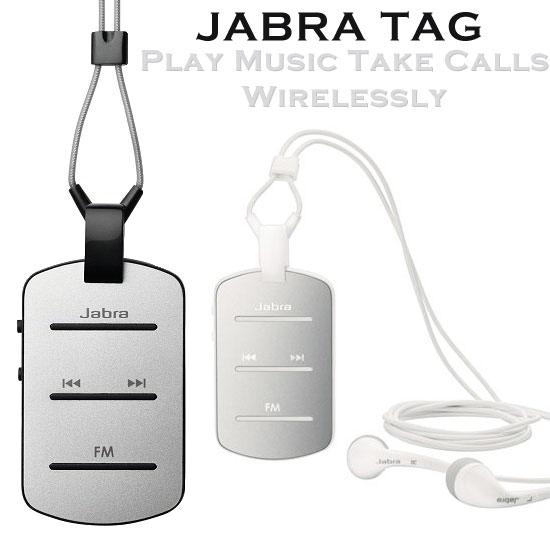 【贈USB車充】捷波朗 Jabra TAG 立體聲藍牙耳機/一對二/FM收音機/麥克風/A2DP/無線吊墜式/領夾式/先創公司貨