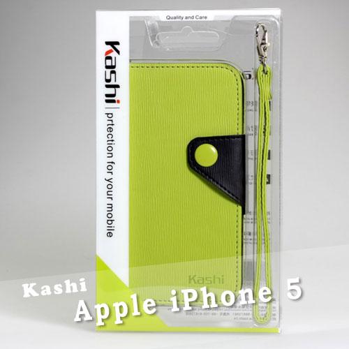【Kashi卡仕】Apple iPhone 5/5S/SE 牙籤紋側掀套附拉帶皮套/翻頁式皮夾皮套/筆記本式手拿包~清倉拍賣