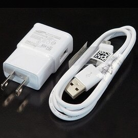 【USB旅充+傳輸線】SAMSUNG N7100 S6790 i8260 i9060 i9500 i9152 i9200 N075 G7102 ETA-U90JWS 原廠USB充電器+傳輸充電線組合