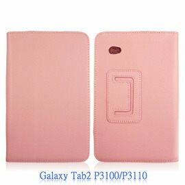 【商務皮套】三星SAMSUNG Galaxy Tab 2 P3100/P3110 7 吋荔枝紋皮套/翻頁式皮套/筆記本型手拿包/斜立展示皮套