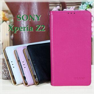 【羊皮紋~限量出清】SONY Xperia Z2 D6503 L50w 專用手機皮套/隱形磁扣側掀保護套/側開插卡/斜立支架保護殼