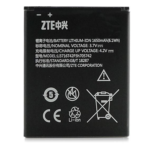 【1650mAh】ZTE Q301c/Q301T / 亞太 A+World CG503 原廠電池/原電/原裝鋰電池~出清價