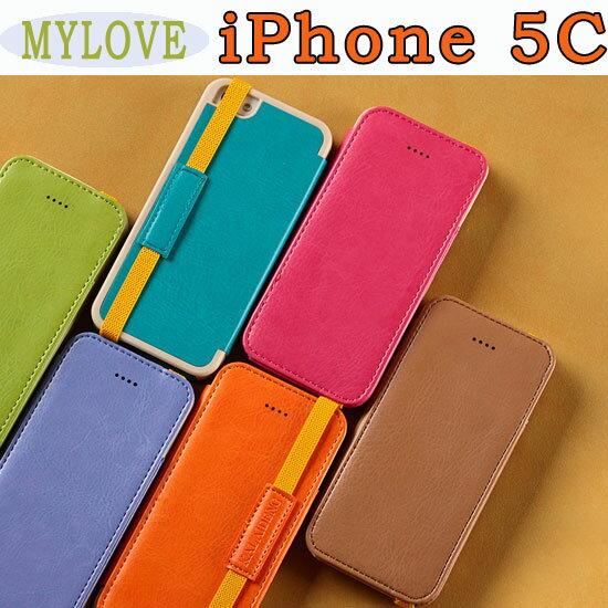 【MYLOVE】Apple iPhone 5C 卡來登皮套/側翻手機套/支架斜立保護殼/硬殼/側掀保護套