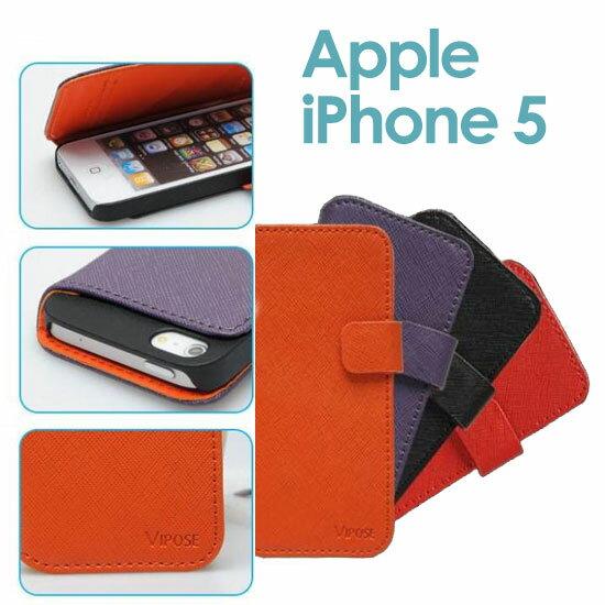 【唯派 Vipose】Apple iPhone 5/5S/SE 書本式反扣皮套/側掀手機套/筆記本翻頁式保護套/翻蓋保護硬殼~絕版出清