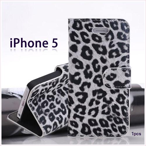 【出清、時尚豹紋】 Apple iPhone 5/5S/iPhone SE 專用皮套/側掀手機套/書本翻頁式保護套/翻蓋保護殼/展示斜立