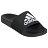 Shoestw【F34770】ADIDAS ADILETTE SHOWER 拖鞋 防水拖 大LOGO 黑白 男生尺寸 0