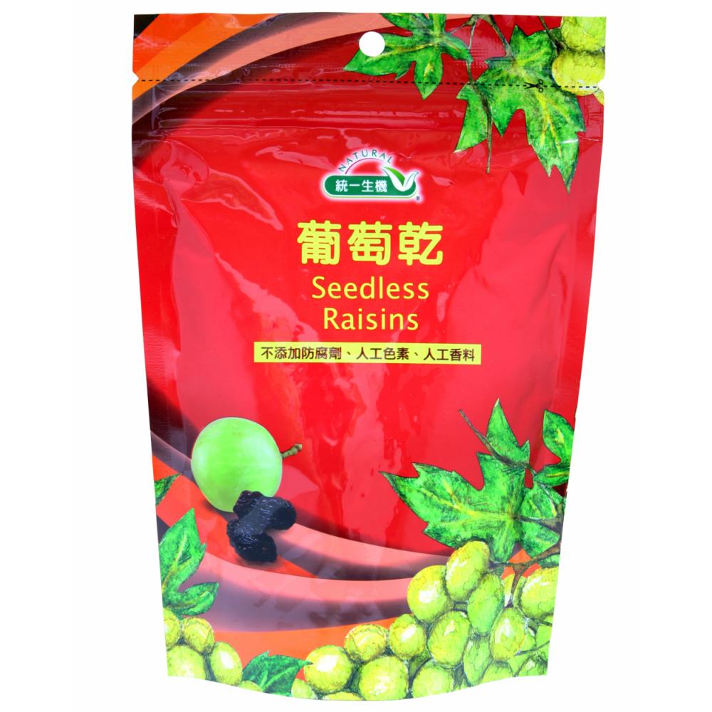統一生機葡萄乾(袋)*顆粒飽滿-250g/包✨常溫品消費滿899元贈有機甘栗一包✨(限量100份)