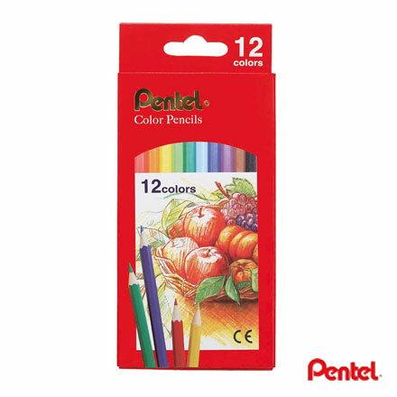飛龍 PENTEL CB8-12T 12色色鉛筆 (紙盒)
