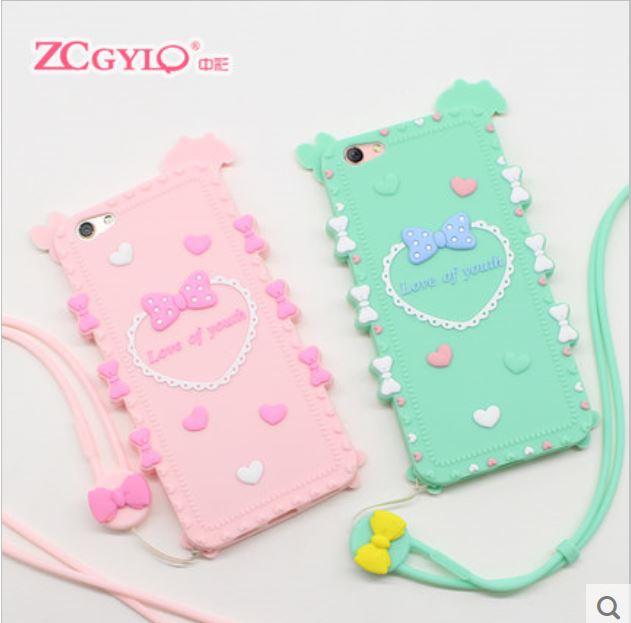 Oppo R9s 奇葩ZCGYLP軟矽膠卡通造型立體手機殼【預購】