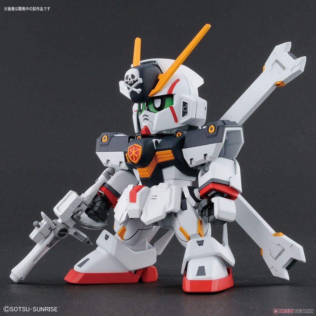 ☆勳寶玩具舖【鋼彈現貨】BANDAI 組裝模型 SDCS #02 骷髏鋼彈 X-1