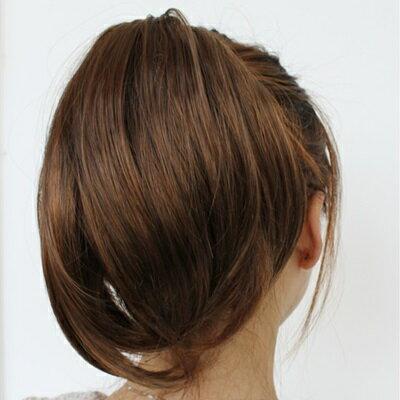 短假髮假馬尾-隱形抓夾式內彎短髮女假髮3色73rr53【獨家進口】【米蘭精品】 2