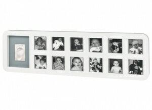 比利時【Baby Art】1st Year Print Frame週年手腳印紀念相框(白色圓框) - 限時優惠好康折扣