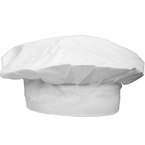 《NOW》純棉廚師帽(白)