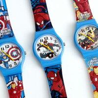 兒童節禮物Children's Day到迪士尼兒童錶 復仇者聯盟 【NE1951】柒彩年代