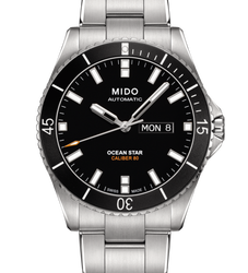 MIDO 美度 Ocean Star 200m潛水機械腕錶M026.430.11.051.00-黑/42mm