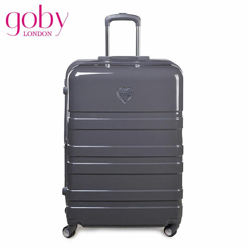 GOBY果比 Love 系列-28吋四輪硬殼登機行李箱拉桿箱-銀灰-L8211 [禾雅時尚]