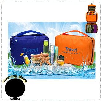 『無名』 韓版 大容量 可掛 洗漱包 旅行 防水 輕便旅行包 收納包 行李箱 收納袋 整理袋 出國 J04102