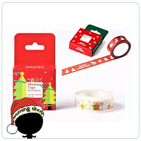 『無名』 聖誕 手作 紙膠帶 手撕 麋鹿 雪人 雪花 聖誕樹 交換禮物 非 拍立得 耶誕卡片 賀卡 J12106