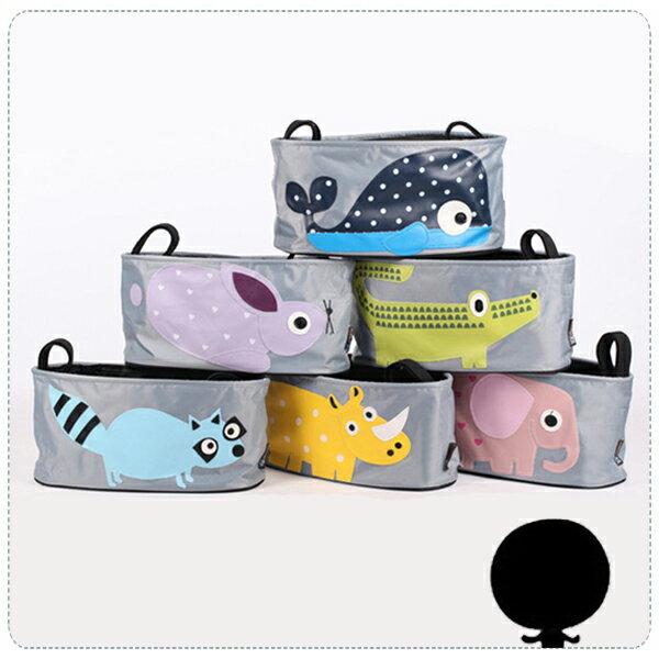 『無名』 推車置物袋 嬰兒推車 收納袋 掛袋 媽媽包 媽咪包 嬰兒床掛袋 分格收納袋 收納包 K04108