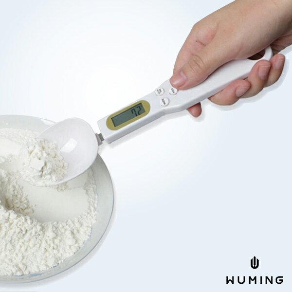 新款 電子式 湯匙秤 500g 液晶顯示 電子秤 料理秤 烘焙秤 奶粉秤 咖啡秤 沖泡 量匙 『無名』 K10139
