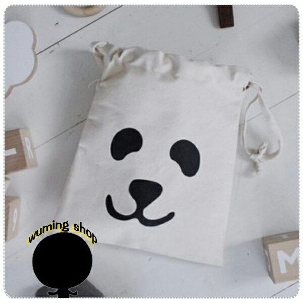 (預購) 『無名』 小帆布袋 束口袋 束口包 抽繩 後背包 雙肩包 背袋 帆布 收納袋 旅行 休閒 可愛 運動 M01106