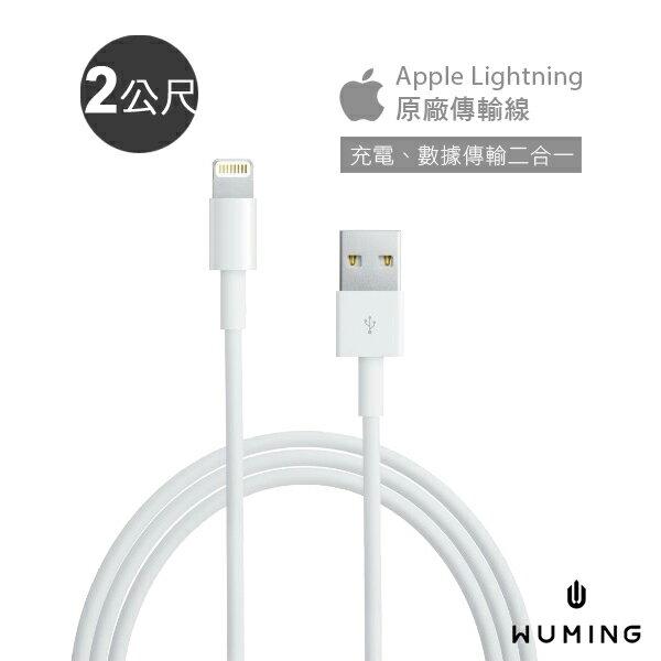 蘋果 原廠 傳輸線 2公尺  充電線 Apple iPhone X 8 Plus i8 ix i7 iPad Pro mini Air 2 3 4 『無名』 M03111 - 限時優惠好康折扣