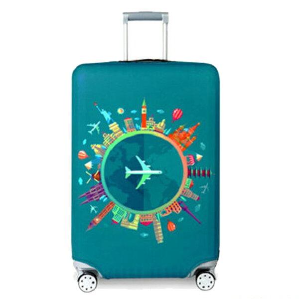 ★超時尚 彈性行李箱套★ 新款加厚 尺寸任選 旅行必備 行李保護防塵套 『無名』 M07123 5