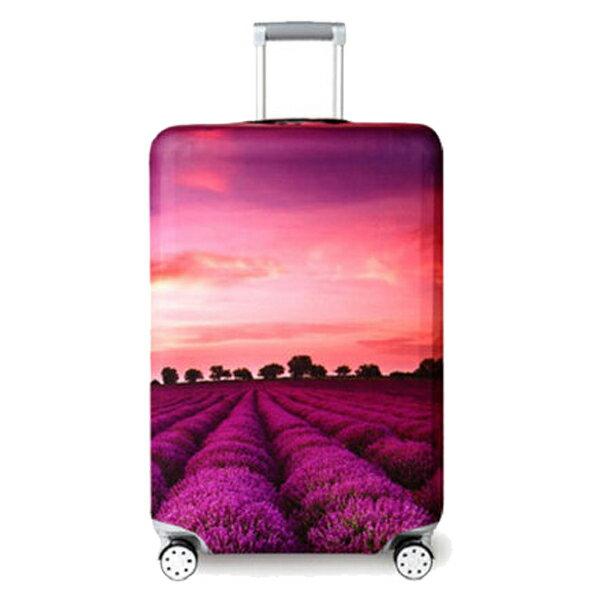 ★超時尚 彈性行李箱套★ 新款加厚 尺寸任選 旅行必備 行李保護防塵套 『無名』 M07123 6