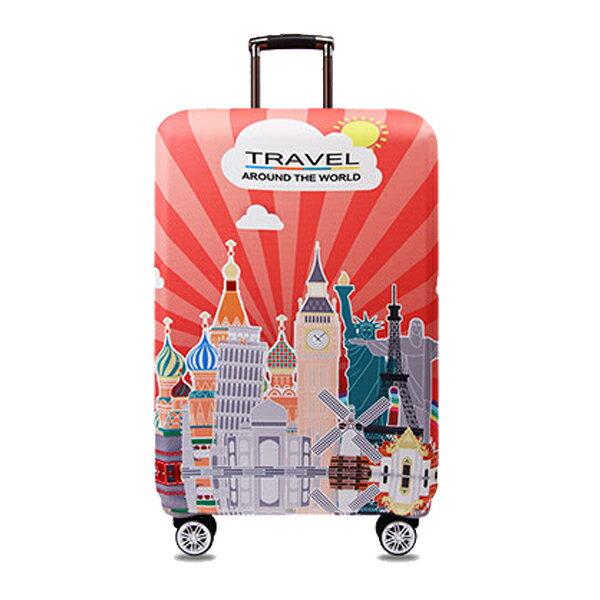 ★超時尚 彈性行李箱套★ 新款加厚 尺寸任選 旅行必備 行李保護防塵套 『無名』 M07123 7