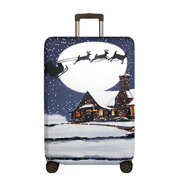 ★超時尚 彈性行李箱套★ 新款加厚 尺寸任選 旅行必備 行李保護防塵套 『無名』 M07123 8