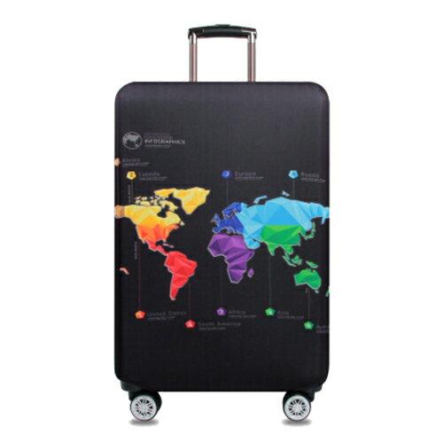 ★超時尚 彈性行李箱套★ 新款加厚 尺寸任選 旅行必備 行李保護防塵套 『無名』 M07123 9