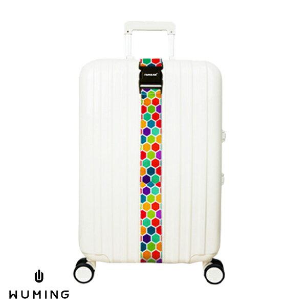 一字型 無密碼 行李箱綁帶 行李束帶 20-28吋 打包帶 綑綁帶 旅行箱 出國 托運 旅行 『無名』 M07125