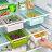 冰箱 隔板 置物盒 抽屜 收納 收納盒 隔層 整理盒 廚房 桌面 多用途 儲物盒 『無名』 M09119 - 限時優惠好康折扣